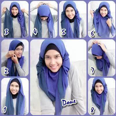 Cara-Memakai-Jilbab-Segi-Empat-Kreasi