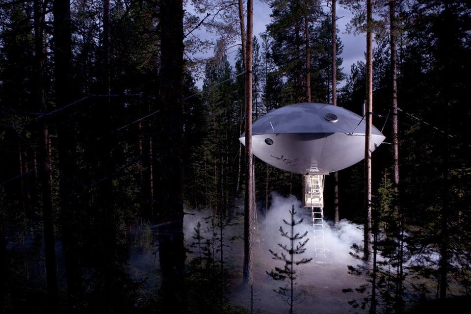 UFO Treehouse, Rumah Pohon