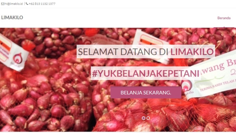 Lima Kilo, Start Up Pertanian