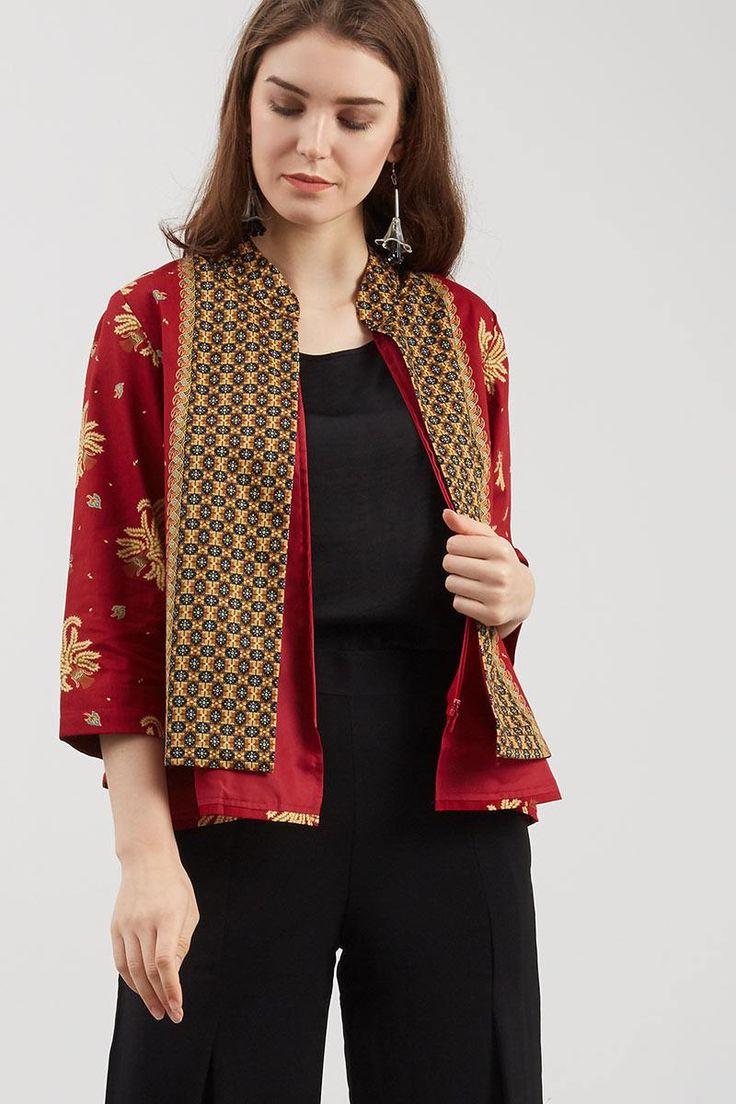 1000+ Gambar Desain Baju Batik Modern Paling Keren - Gambar ID