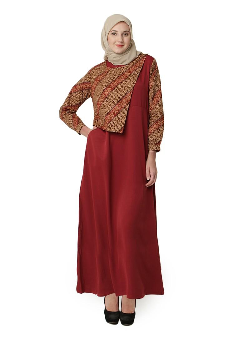 Foto Desain Baju Busana Muslim Batik | Kerabatdesain