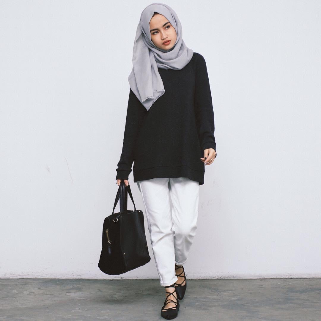 busana muslim trendi busana casual 450x450 » Trend Terkini Perkembangan Busana  Muslim Wanita Terbaru 5d55e7959d
