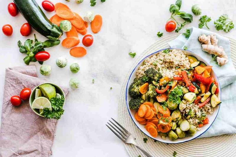 konsumsi makanan sehat