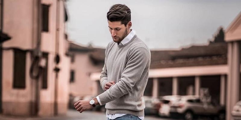Sweater Pria untuk Kerja Kantoran
