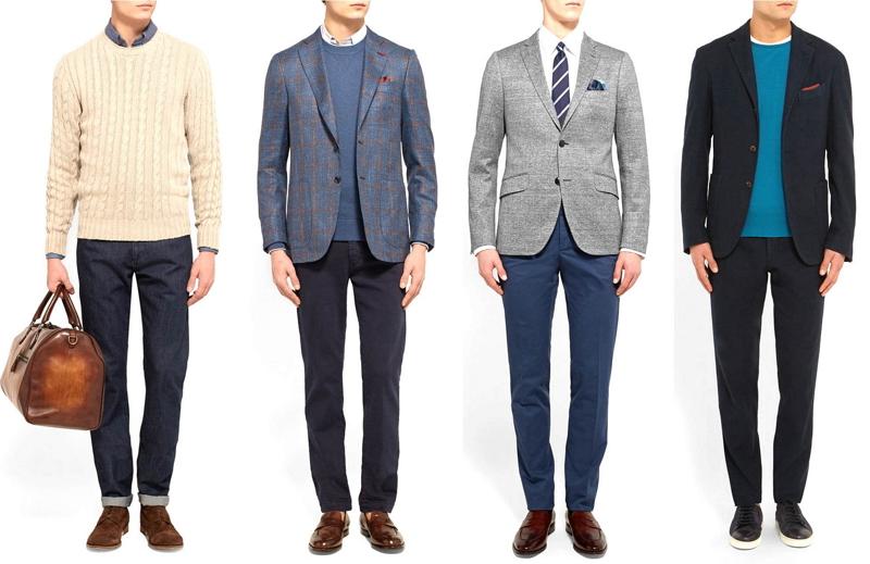 Celana Bahan Pria untuk Kerja Kantoran